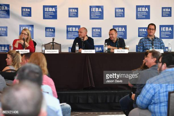 Abby Wells Baas of WME Wayne Hurte of Chumash Casino Resort Brian Moore of The Bowery Presents and Craig Newman of APA speak on the Breakout Session...