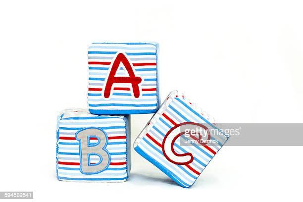 Abc toy blocks