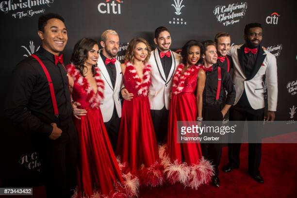 ABCs 'Dancing with The Stars' professional dancers attend the California Christmas at The Grove on November 12 2017 in Los Angeles California