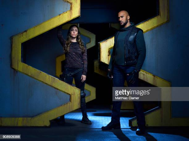 S AGENTS OF SHIELD ABCs 'Marvel's Agents of SHIELD stars Natalia CordovaBuckley as Elena 'YoYo' Rodriguez and Henry Simmons as Alphonso 'Mack'...