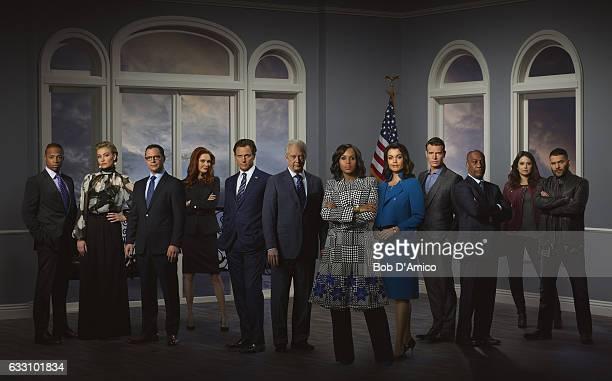 SCANDAL ABCs Scandal stars Cornelius Smith Jr as Marcus Walker Portia de Rossi as Elizabeth North Joshua Malina as David Rosen Darby Stanchfield as...