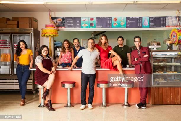 BEAUTY ABCs The Baker and the Beauty stars Michelle Veintimilla as Vanessa Belissa Escobedo as Natalie Garcia Lisa Vidal as Mari Garcia Carlos Gómez...