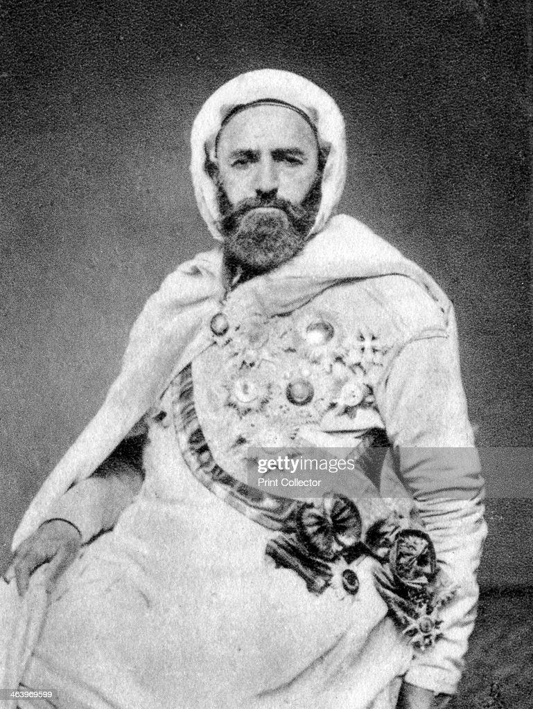 Abd Al Qadir Algerian Sufi And Political Military Leader 1875