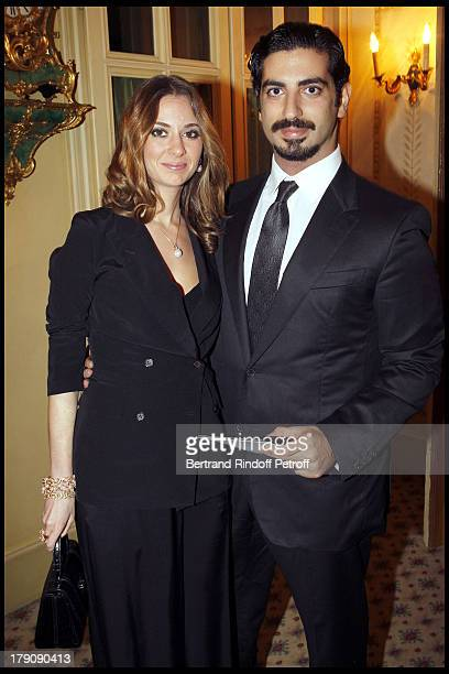 Abdala Hariri and wife at D'Action Innocence Gala Evening At Pavillion Ledoyen In Paris