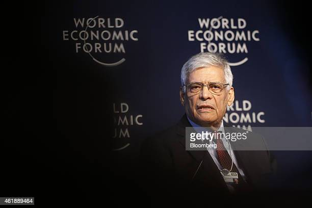 Abdalla ElBadri OPEC secretarygeneral speaks during a session on the opening day of the World Economic Forum in Davos Switzerland on Wednesday Jan 21...