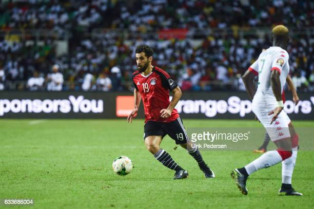 Abdallah El Said of Egypt during the African Nations Cup Semi Final match between Burkina Faso and Egypt at Stade de L'Amitie on February 1 2017 in...