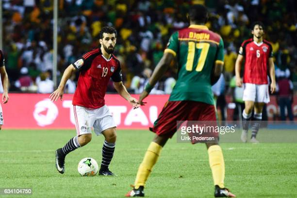 Abdallah Said of Egypt during the African Nations Cup Final match between Cameroon and Egypt at Stade de L'Amitie on February 5 2017 in Libreville...