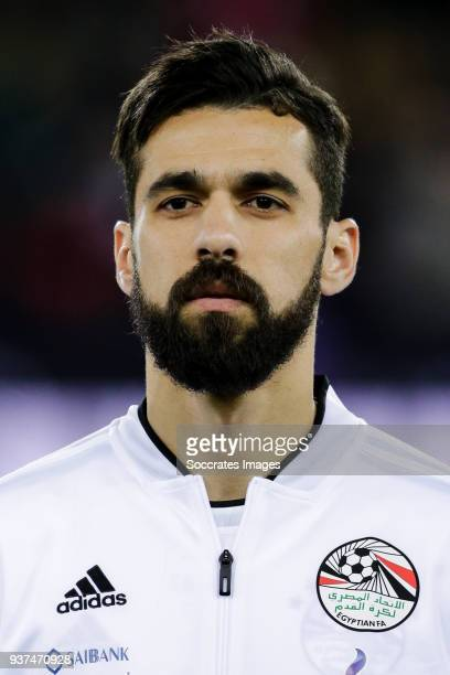 Abdallah Said of Egypt during the International Friendly match between Egypt v Portugal at the Letzigrund Stadium on March 23 2018 in Zurich...