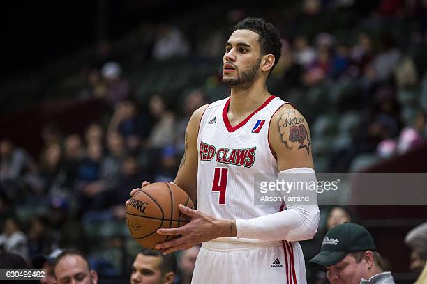 Abdel Nader of the Maine Red Claws looks to pass the ball against the Grand Rapids Drive at the DeltaPlex Arena on December 23 2016 in Walker...