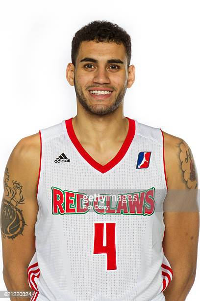 Abdel Nader of the Maine Red Claws poses for a head shot during NBA DLeague media day on November 4 2016 at the Portland Expo in Portland Maine NOTE...
