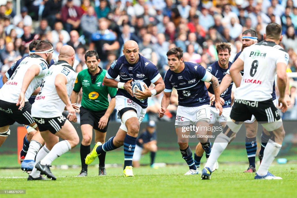 FRA: Aviron bayonnais rugby pro v Club athletique Brive Correze Limousin - Pro D2 Final
