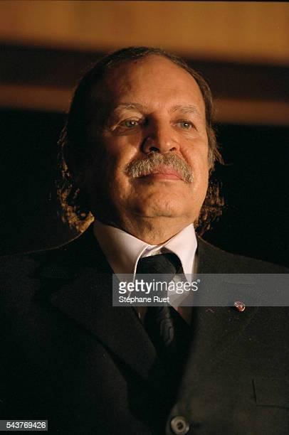 Abdelaziz Bouteflika Algerian President