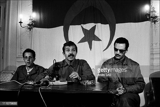 Abdelaziz Bouteflika files pictures in Algiers Algeria on October 21st 1963
