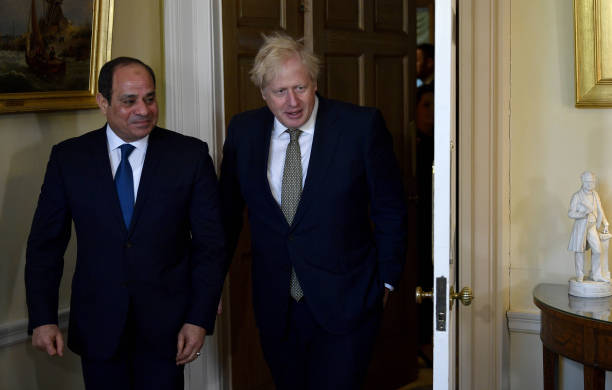 GBR: UK Prime Minister Boris Johnson Holds Bilateral Meetings With Egypt and Kenya Leaders