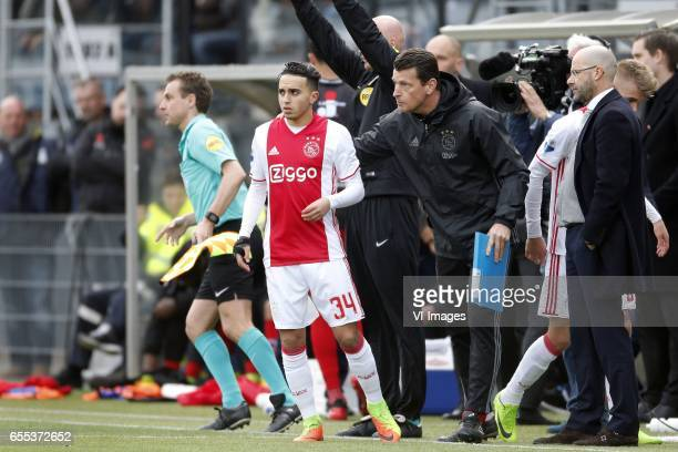 Abdelhak Nouri of Ajax during the Dutch Eredivisie match between sbv Excelsior Rotterdam and Ajax Amsterdam at Woudenstein stadium on March 19 2017...