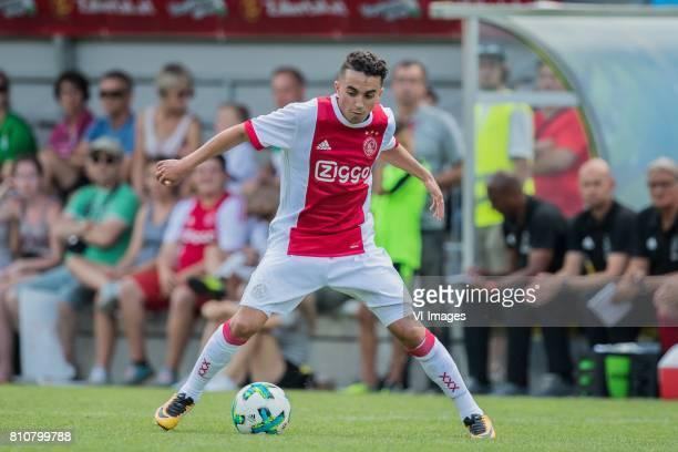Abdelhak Nouri of Ajax during the friendly match between Ajax Amsterdam and SV Werder Bremen at Lindenstadion on July 08 2017 in Hippach Austria