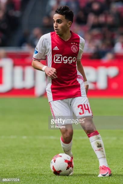 Abdelhak Nouri of Ajaxduring the Dutch Eredivisie match between Ajax Amsterdam and Go Ahead Eagles at the Amsterdam Arena on May 07 2017 in Amsterdam...