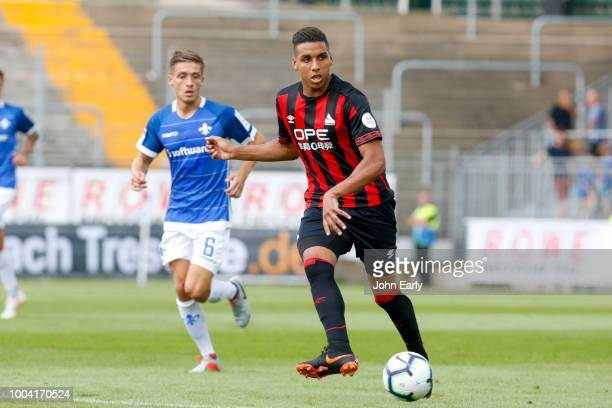 Alex Pritchard of Huddersfield Town during the preseason friendly between Sv Darmstadt 98 and Huddersfield Town at MerckStadion am Boellenfalltor on...