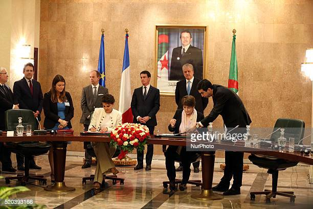 Abdelmalek Sellal Premier valls manual with French Prime Minister lor the work of the third session of the Intergovernmental Committee of...