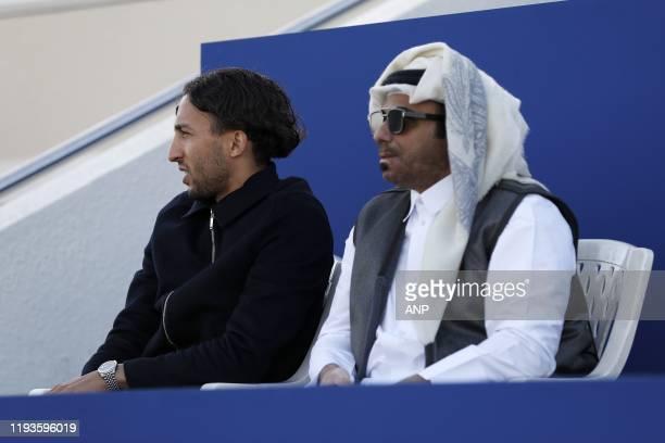 Abdenasser El Khayati during a international friendly match between PSV Eindhoven and KAS Eupen at Aspire Academy on January 11, 2020 in Doha, Qatar