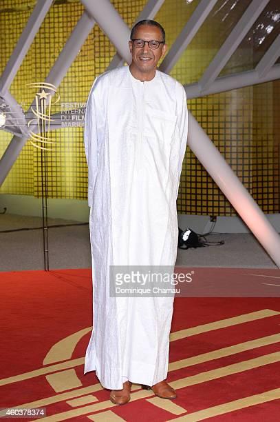 Abderrahmane Sissako attends 'Cinecoles Jury members' Photocall 14th Marrakech International Film Festival on December 12 2014 in Marrakech Morocco