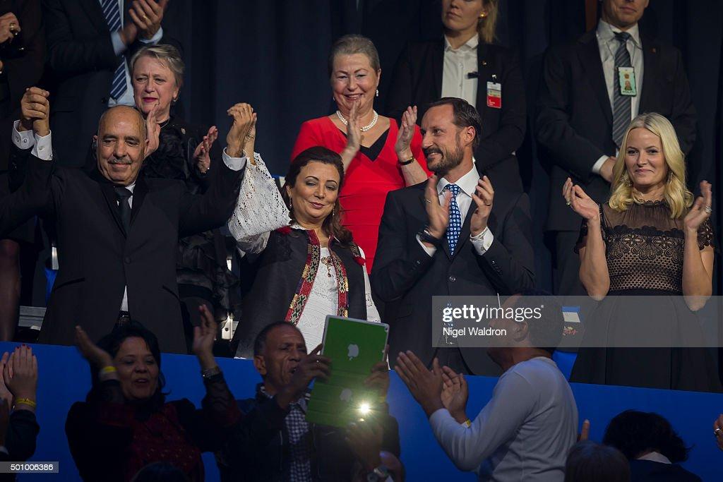 Nobel Peace Prize Concert 2015 : ニュース写真