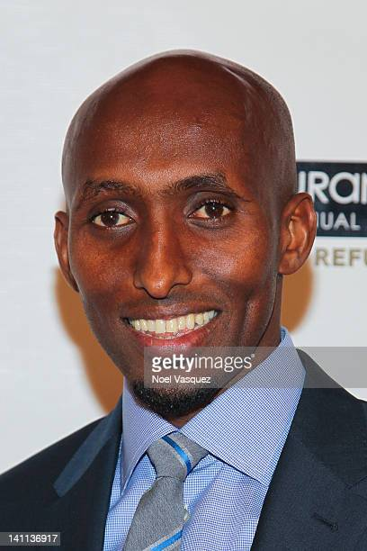 Abdi Abdirahman attends the Endurance Live 20th Annual Awards Gala at Nokia Theatre LA Live on March 10 2012 in Los Angeles California