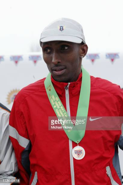 Abdi Abdirahman fifth place finisher of the mens 12K