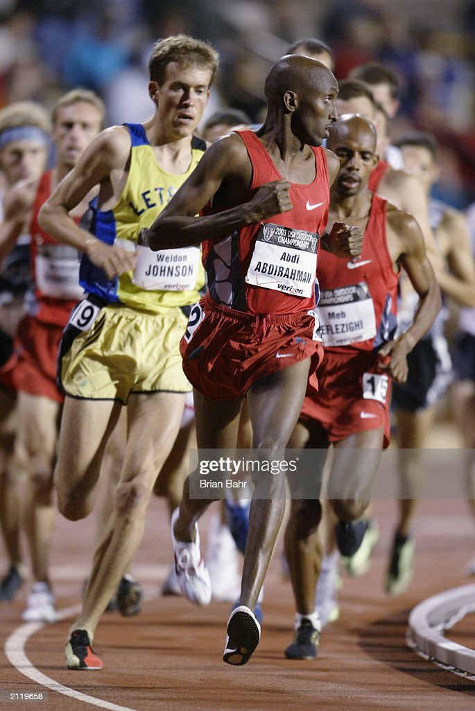 Abdi Abdirahman leads : News Photo