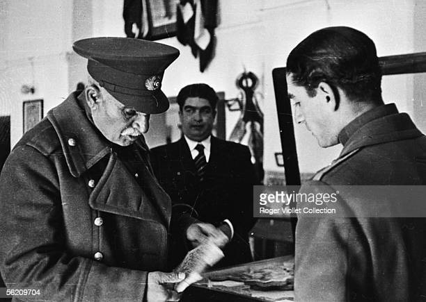 Abdication of Reza Shah Pahlavi which hand down to his son the daggerrelic of the family September 1941