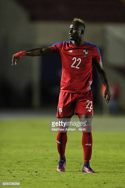Abdiel Arroyo of Panama during the Copa Centroamericana 2017 match between Panama and Belize at Estadio Rommel Fernandez on January 13 2017 in Panama...