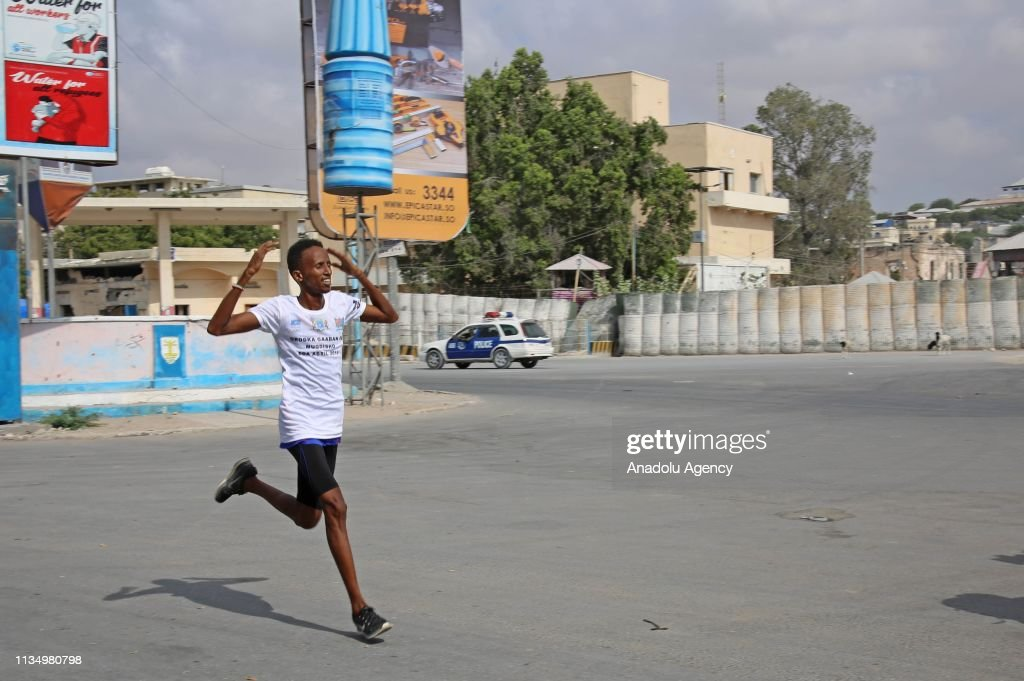 Abdinur Muhammed Garad Wins The Mini Marathon In Mogadishu Somalia
