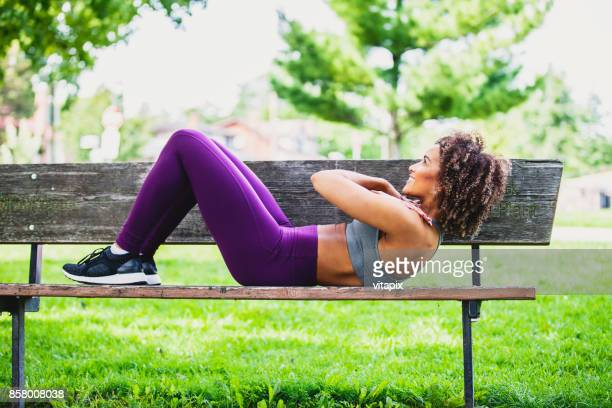 Abdominal Workout at the Park