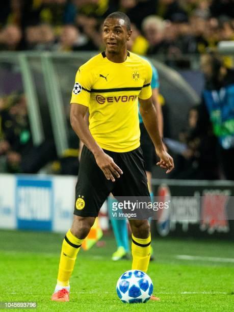 Abdou Diallo of Borussia Dortmund during the UEFA Champions League group A match between Borussia Dortmund and AS Monaco at the Signal Iduna Park...