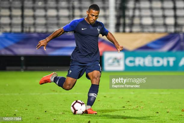 Abdou Diallo of France during the International U21 Football Friendly match between France and Turkey on October 12 2018 in Rouen France