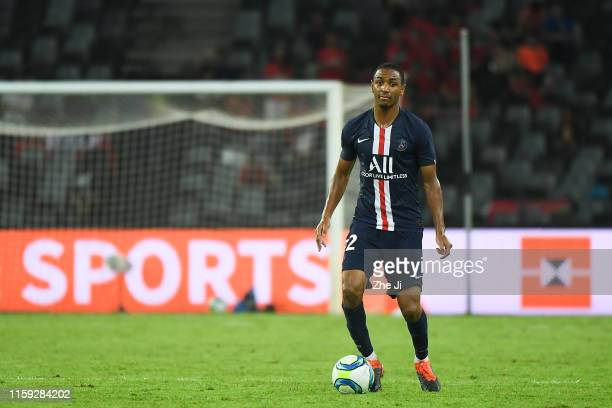 Abdou Diallo of Paris Saint-Germain in action during to the 2019 Trophee des Champions between Paris saint-Germain and Stade Rennais FC at Shenzhen...