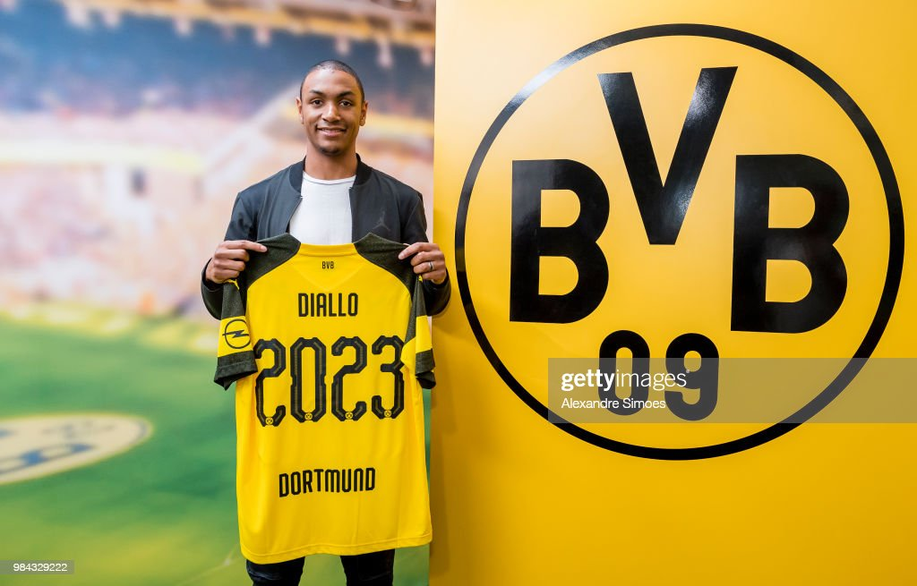 Borussia Dortmund Unveils New Signing Abdou Diallo : News Photo