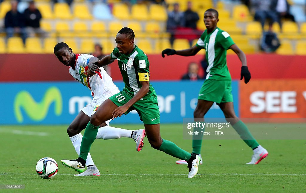 Mali v Nigeria: Final - FIFA U-17 World Cup Chile 2015 : News Photo