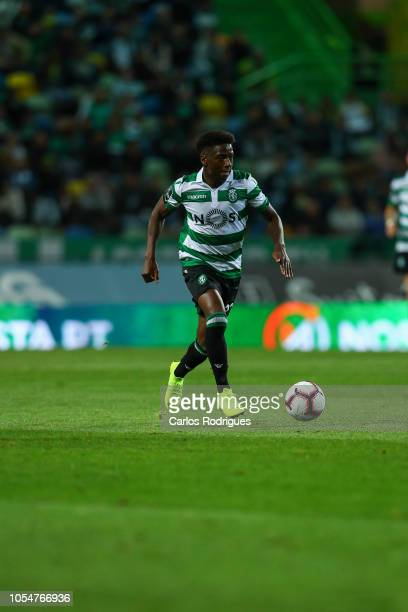 Abdoulay Diaby of Sporting CP during the Liga NOS round 8 match between Sporting CP and Boavista FC at Estadio Jose Alvalade on October 28 2018 in...