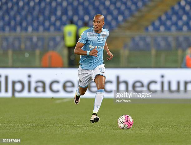 Abdoulay Konko during the Italian Serie A football match between SS Lazio and FC Inter at the Olympic Stadium in Rome on may 01 2016
