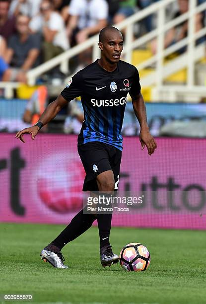 Abdoulay Konko of Atalanta BC in action during the Serie a match between Atalanta BC and FC Torino at Stadio Atleti Azzurri d'Italia on September 11...