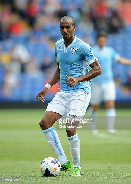 Abdoulay Konko of Lazio during a Pre Season Friendly between Crystal Palace and Lazio at Selhurst Park on August 10 2013 in London England