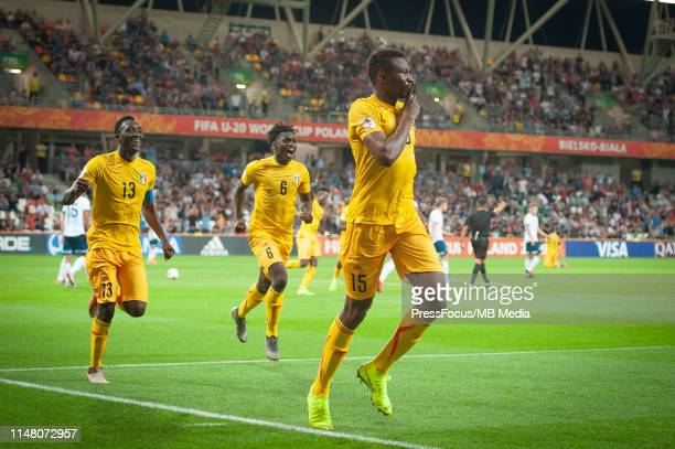 Abdoulaye Diaby of Mali celebrates scoring a goal during the FIFA U20 World Cup match between Argentina and Mali on June 4 2019 in Bielsko Biala...