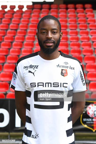 Abdoulaye Diallo during photoshooting of Stade Rennais for new season 2017/2018 on September 19 2017 in Rennes France
