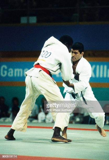 Abdoulaye Diallo Hidetoshi Hakanishi Men's Judo competition California State University at the 1984 Summer Olympics August 1984