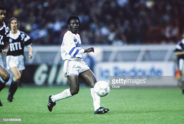 Abdoulaye Diallo of Marseille during the French national cup final match between Bordeaux and Marseille at Parc des Princes Paris France on June 10...