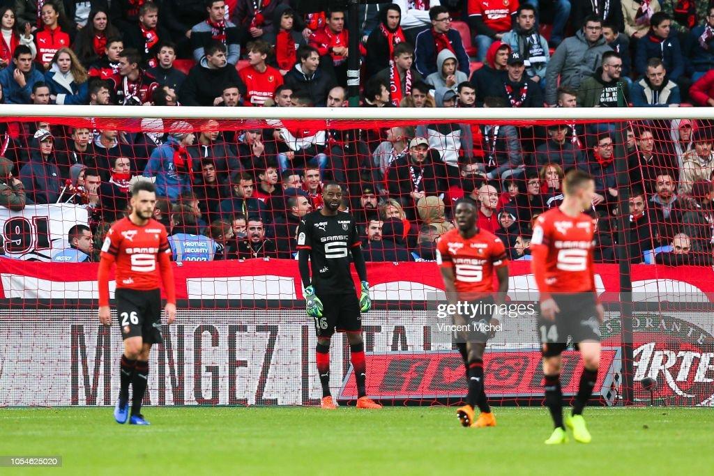 Stade Rennais v Stade de Reims - Ligue 1 : News Photo