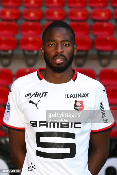 Abdoulaye Diallo of Rennes during the Rennes Photoshooting on September 17 2018 in Rennes France