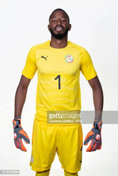 Abdoulaye Diallo of Senegal poses for a portrait during the official FIFA World Cup 2018 portrait session at the Team Hotel on June 13 2018 in Kaluga...