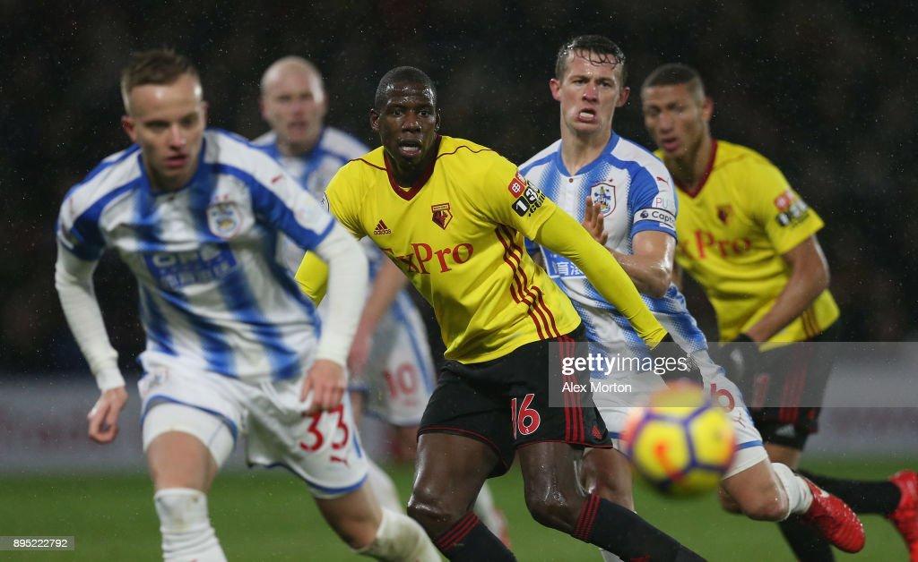 Watford v Huddersfield Town - Premier League : News Photo